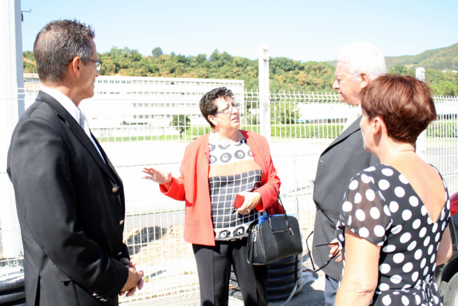 VISITE OFFICIELLE DE RENTREE A LA CITE PAUL ARENE DE SISTERON