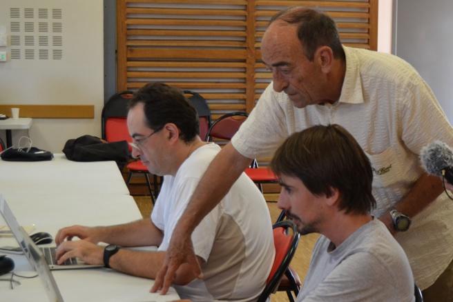 Le village d'Aiglun investit wikipédia de belle manière