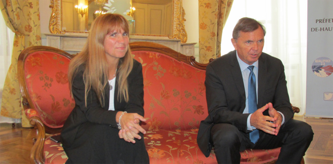 Myriam Garcia et Bernard Guérin