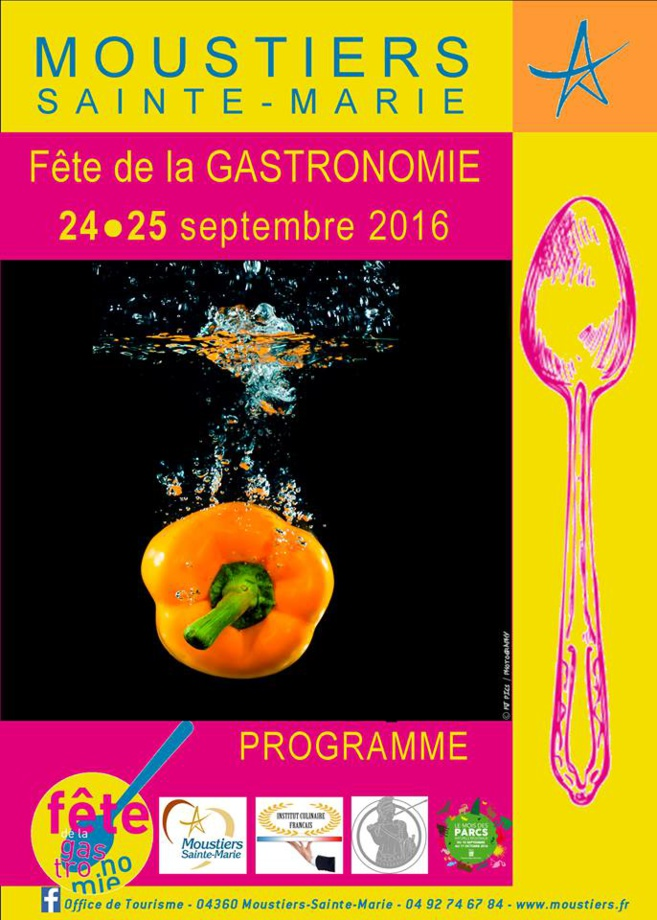 Moustiers fête la gastronomie ce week-end