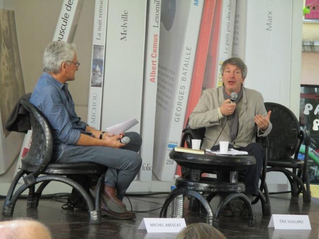 Eric Vuillard a présenté son dernier livre « 14 Juillet »