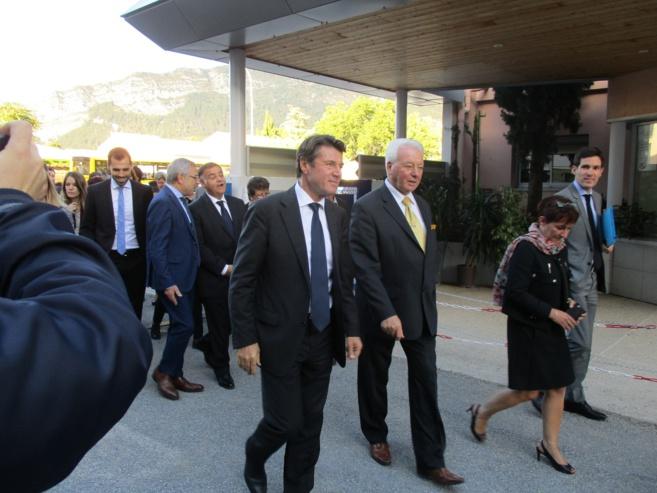 Le Président de la Région était dans les Alpes du Sud hier