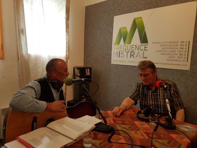 Gérard Amillard et Jack Lewis