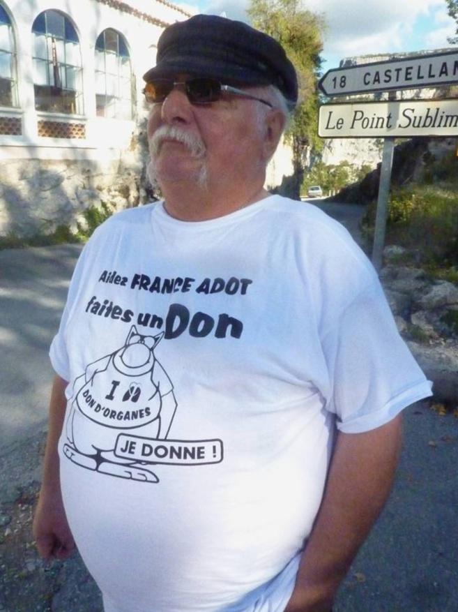 Les personnes atteintes d'hypertension artérielle pulmonaire étaient à l'honneur ce samedi à Rougon, dans les Gorges du Verdon