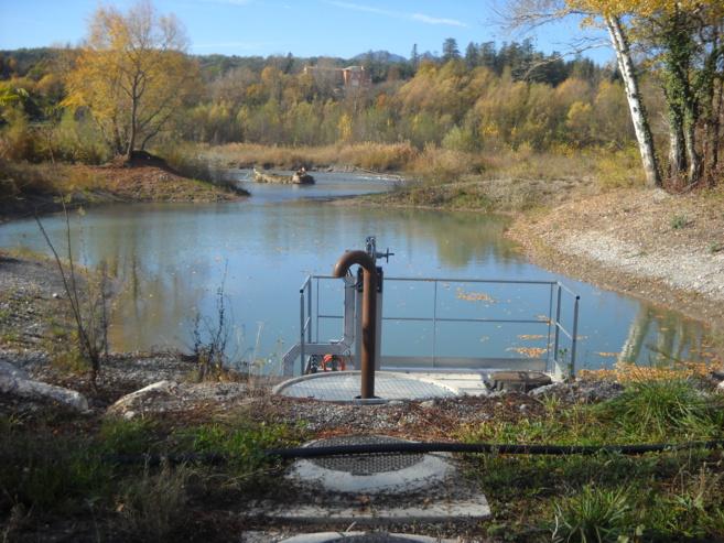 Sisteron possède une nouvelle station de pompage
