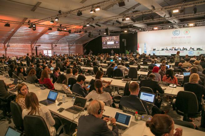 Séance de clôture de la COP22