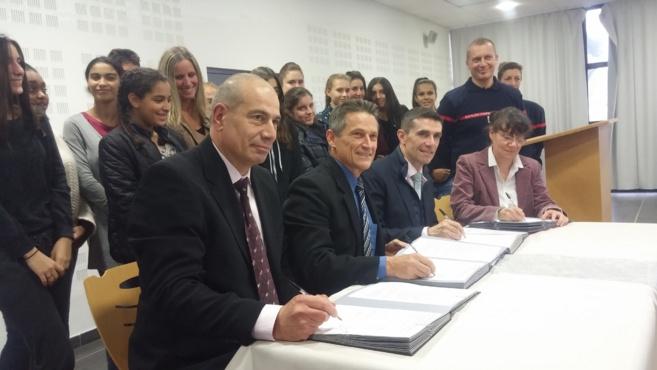 Des collégiens manosquins s'investissent dans la sécurité civile