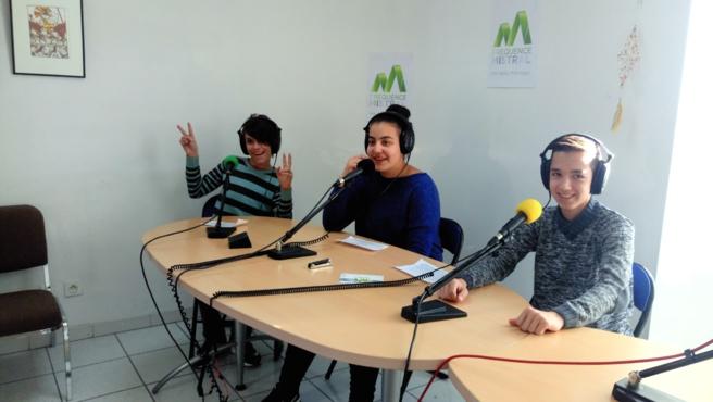 Camélia, William et Léo ont passé une semaine au sein de notre radio…