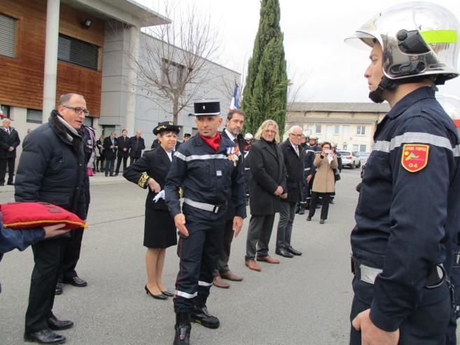 Les pompiers de Manosque ont fêté la Sainte-Barbe