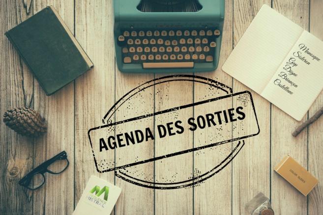 Agenda des sorties du 6 au 8 Janvier 2017