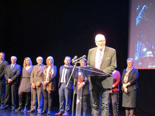Bernard Jeanmet a présenté ses vœux aux Manosquins