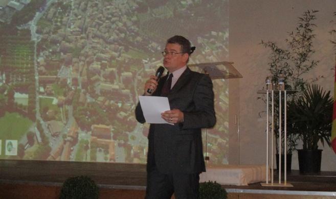 Les vœux de Bruno Poissonnier à Sainte-Tulle