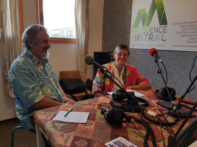 Pierre Frapa et Martine Vallon