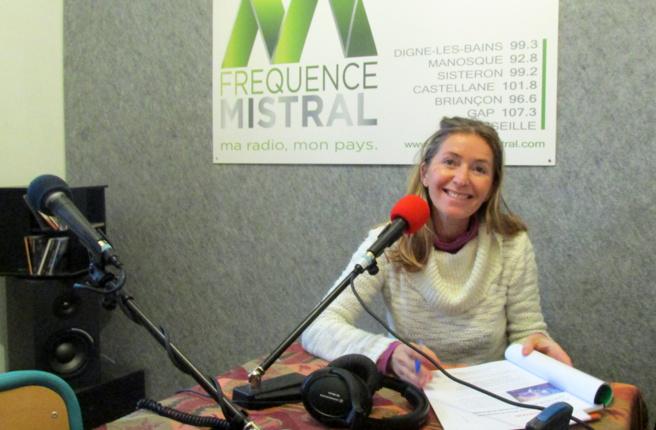 Corinne Pelozuelo en direct à Fréquence Mistral