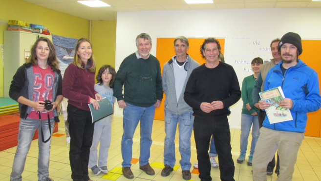Rencontre avec les explorateurs Corinne Pelozuello et Bruno Lambert à l'école du Brusquet