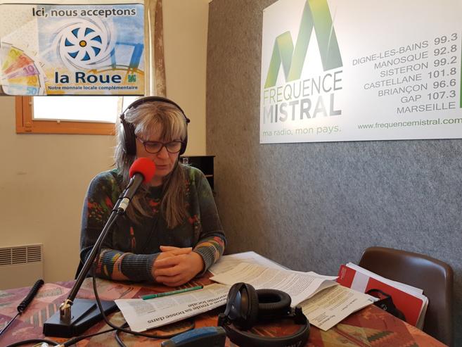 Paule Ducournau présente la roue