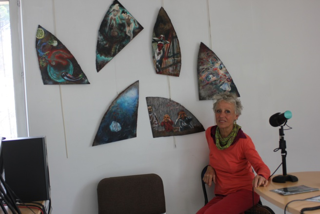 Anne Wendling, artiste plasticienne expose ses oeuvres