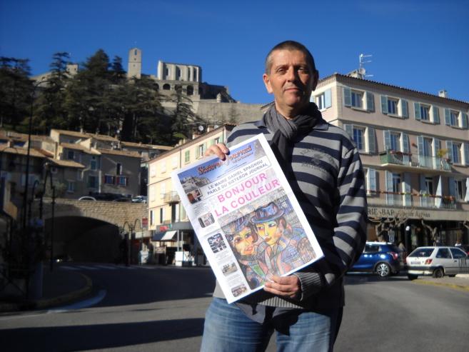 Le Sisteron journal prend des couleurs
