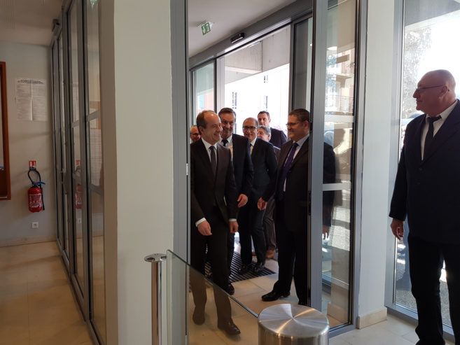 Inauguration ministérielle au TGI de Digne