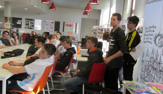 Comment le numérique favorise les actions citoyennes menées au Lycée Pierre Gilles de Gennes ?