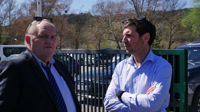 Le Vice-président de la Fédération Française de Rugby était en visite à Digne