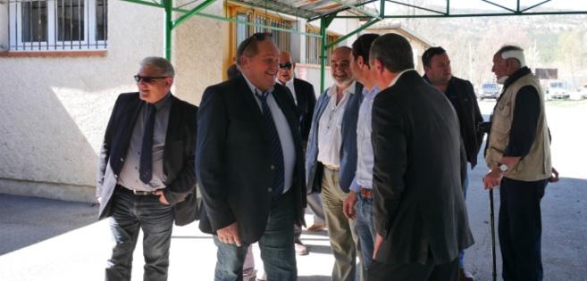 Le vice-président de la Fédération Française de Rugby était à Digne la semaine dernière.