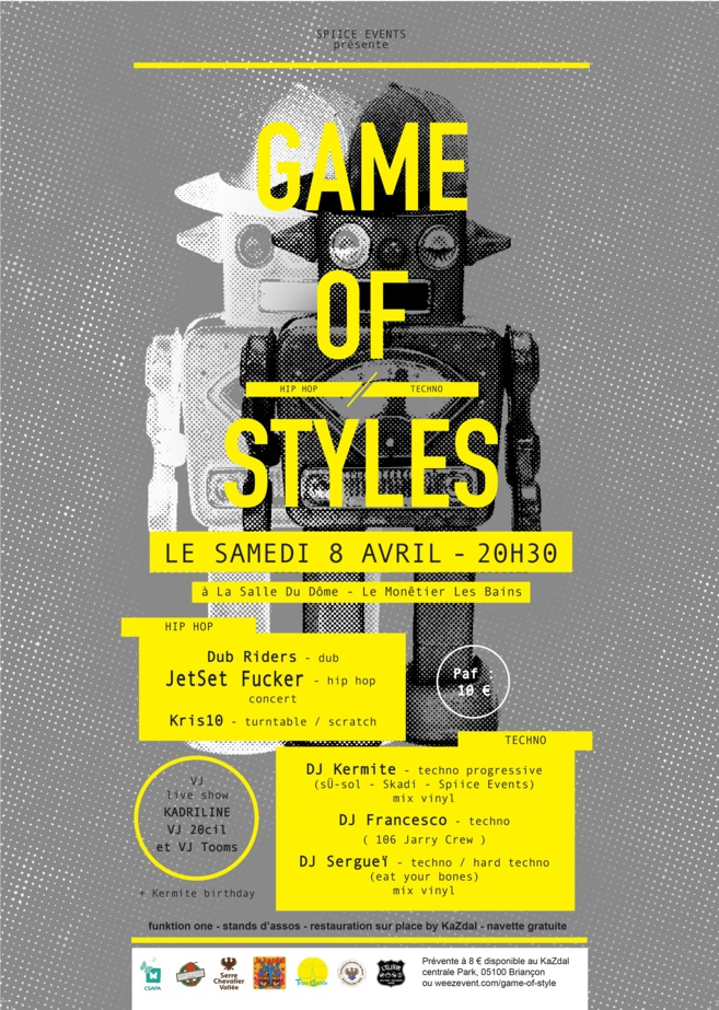 Game of Styles à la salle du dôme :
