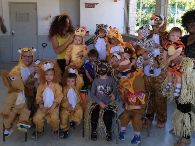 La MAM de Sisteron façon carnaval-savane
