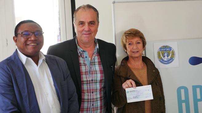 Les soroptmistes dignoises soutiennent l'APPASE