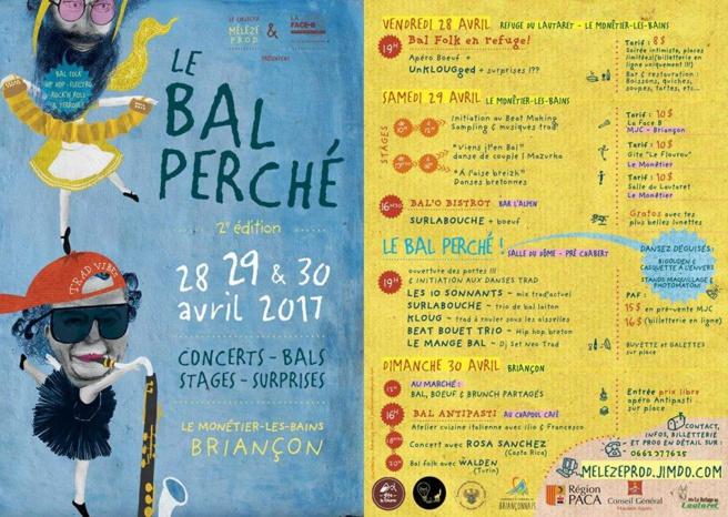 Programme pour le Bal Perché