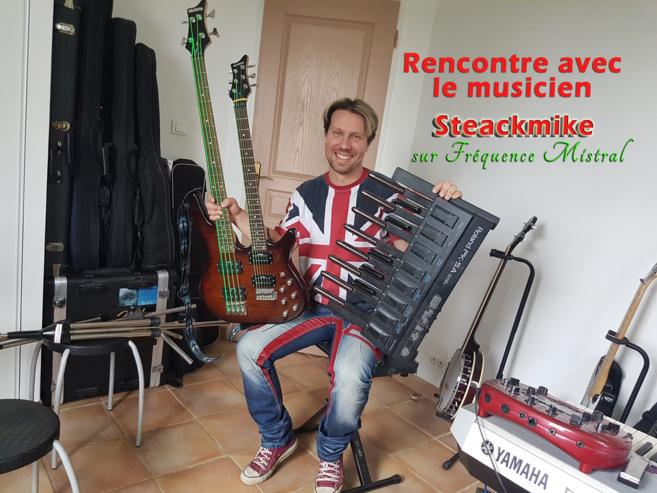 Rencontre avec le musicien multi-instrumentiste Steackmike