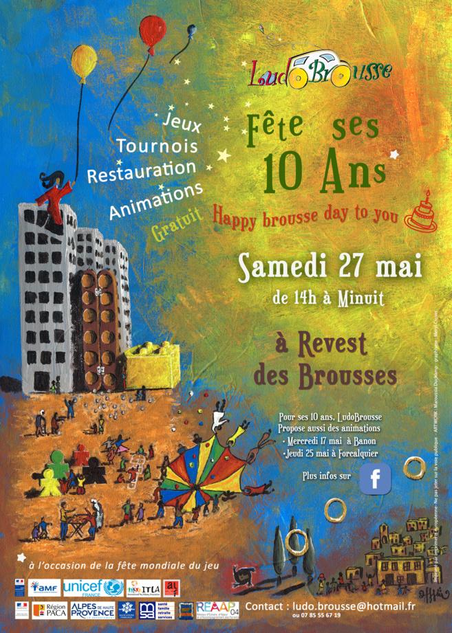 Happy Brousse Day ludothèque ! Un anniversaire à Revest-des-Brousses