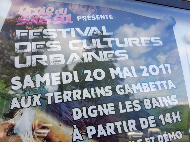 Ce samedi, Digne fête les cultures urbaines.