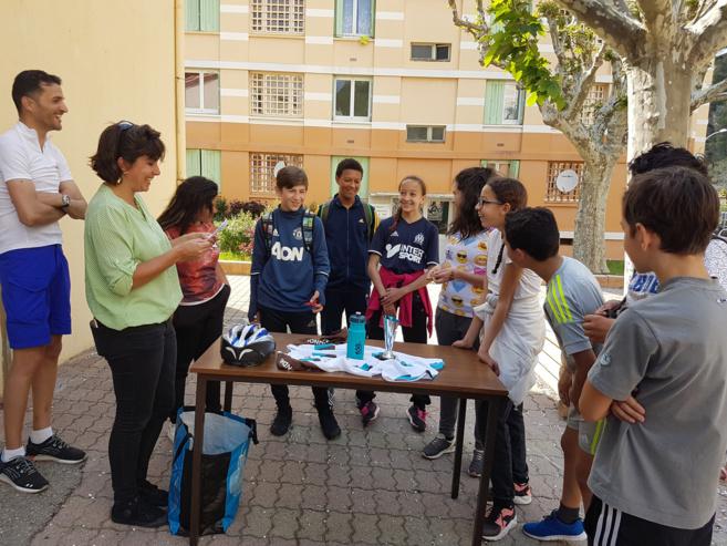 A Digne, 10 jeunes du quartier du Pigeonnier ont participé à un triathlon