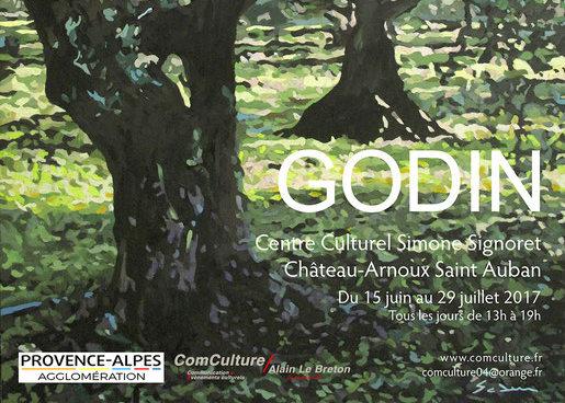 L'exposition du peintre Jacques Godin est visible à Château-Arnoux