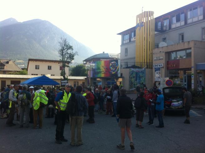 La Marche pour le droit d'asile est partie de Briançon