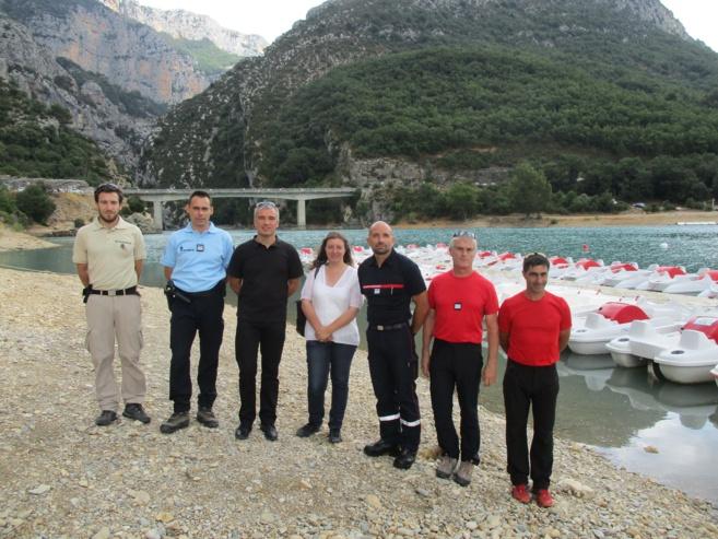 Gorges et lacs du Verdon, ils assurent la sécurité cet été