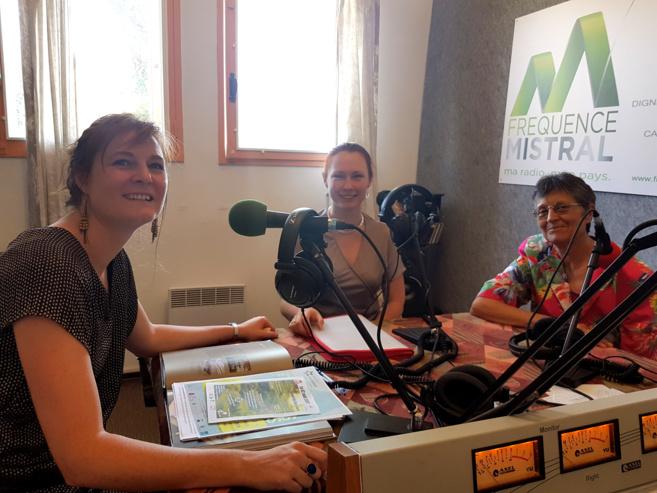 Laurie Honnoré, Lisa Cugnez et Martine Vallon