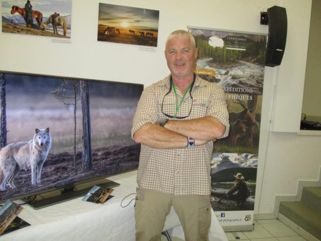 Arnaud Marchais, explorateur et chasseur d'images