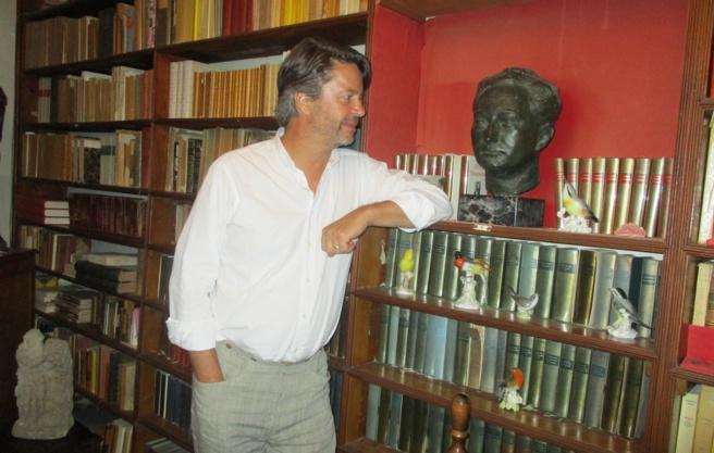 Thibault de Montalembert a lu Giono à Manosque