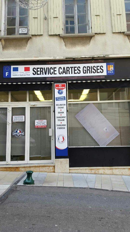 un service de carte grise a ouvert à sisteron