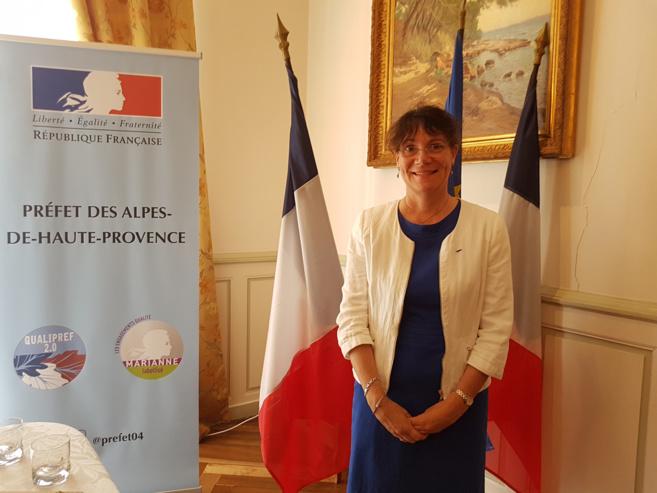 Catherine Duval Directrice des services du cabinet du Préfet des Alpes de haute Provence de 2014 à 2017