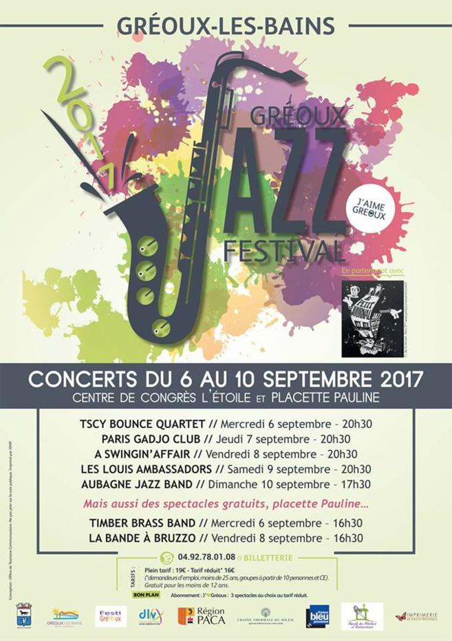 Pendant 5 jours, Gréoux-les-Bains va swinguer aux sons du jazz