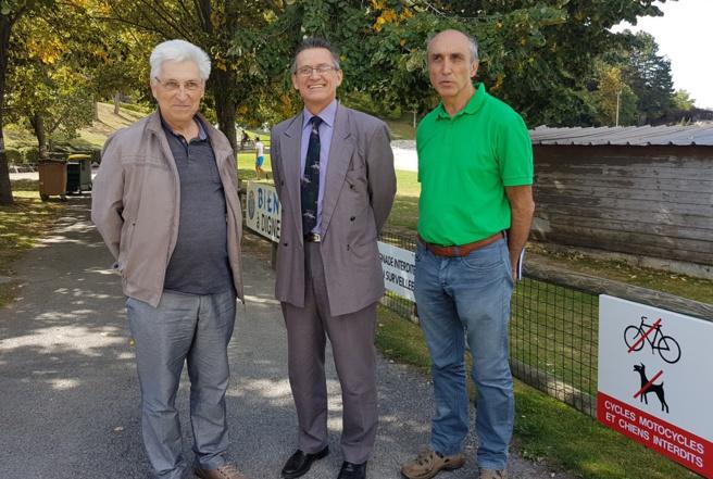 Michel Eyraud, Eric Lavis et Jean-François Lecomte