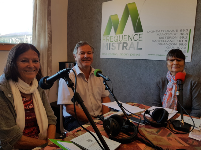 Myriad Duqué, Michel Berne et Monique Etienne