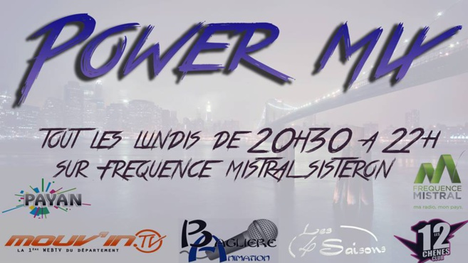 Power Mix du lundi 16 octobre 2017