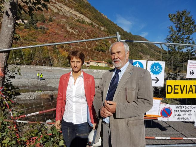Laura Piantoni et Alexandre Varcin