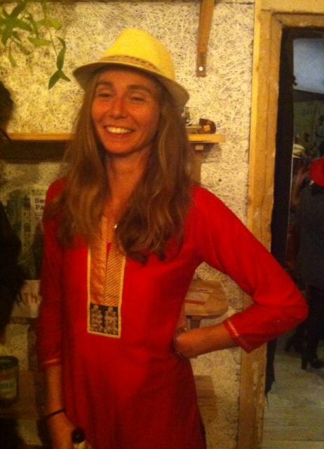 Morgane : une des fondatrices du Chapoul café