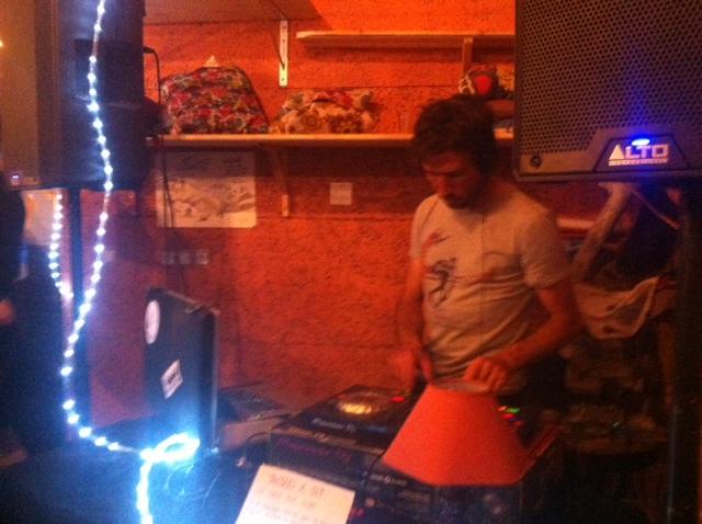C'était l'anniversaire du Chapoul café à Briançon!