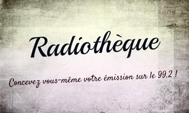 Radiothèque: mardi 7 novembre !